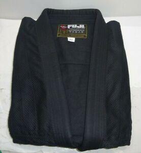 FUJI GI & Gear Achieve Excellence Jiu Jitsu Gi Size A2 - Black