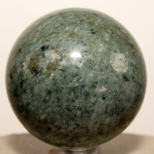 "2.1"" Green Jasper Sphere Polished Chalcedony Crystal Mineral Stone Ball - China"