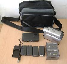 Panasonic NV-DS1 telecamera, buone condizioni e funzionante, unità di docking