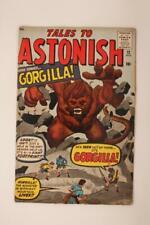 Tales To Astonish # 12 -  - Gorgilla! MARVEL Comics
