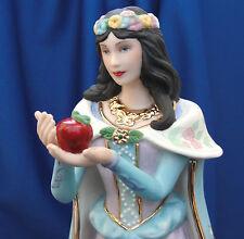 Lenox 1989 Snow White Figurine Legendary Princess Apple Butterfly Flowers 24k