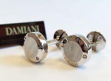 Damiani Blasoni 18k White Gold Diamonds Cufflinks MSRP $3,500
