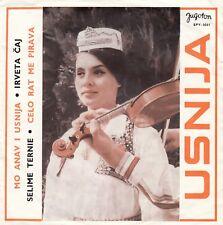 "USNIJA MO ANAV I USNIJA / SELIME TERNIE RARE GYPSY SONGS YUGOSLAVIA RECORD 7"" PS"