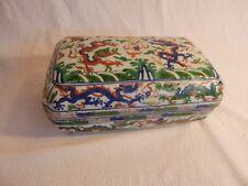 JiaJing Wucai (1521-1566)  Box of the Great Ming Dynasty
