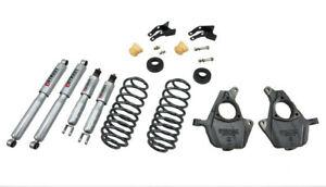 "Belltech Lowering Kit 2""F/3""-4""R W/SP Shocks 00-06 Chevrolet Tahoe / Suburban"