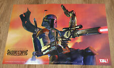 1996 Nintendo 64 Star Wars Shadows of the Empire rare small Poster 30x42cm
