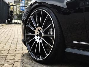 Stylus Black schwarze Alufelgen 9+10 22 Zoll Mercedes S Klasse 222 Coupe Cabrio