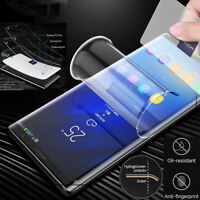 For Samsung Galaxy Note 10 Plus S10 + HYDROGEL AQUA FLEX Screen Protector Film