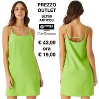Vestito Donna Abito Mini Festa Spiaggia Outlet Mini Cover up Dress CG-DR1486