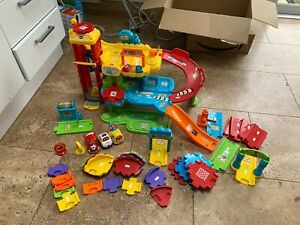 Toot Toot Garage Plus Parts (well Used) Vtech