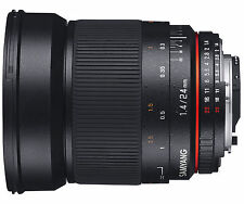 Samyang 24mm f/1.4 AS UMC ED MF Lens for Nikon
