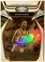 2020-21 Panini Certified ONYEKA OKONGWU Gold Team Rookie RC #6 Atlanta Hawks