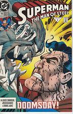 Superman- The Man of Steel #19 (Dc January 1993) vs Doomsday!