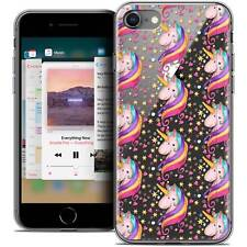 "Cover Crystal Gel for iPhone 8 (4.7"") Extra Fine Flexible Fantasia Licorne Two"