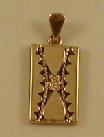 9 ct YELLOW GOLD DOUBLE HEARTS PENDANT IN NICE DESIGNED