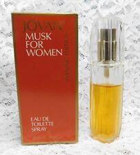 Vintage Jovan Musk EDT Women Evening Edition .85 fl oz / 25 ml About 75% Full