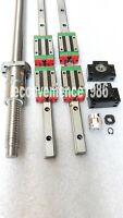 HGR20-660/800/800mm Linear rail &DFU1605--365/555/800mm Ballscrew &BF12/BK12 Kit