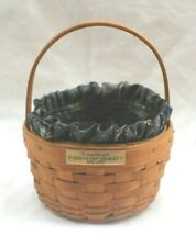 Longaberger Discovery Basket 1492-1992 With Liner