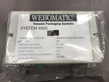 Webomatic Vacuum Packaging Machine: Part System 4000 COMPUTER