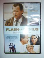 Flash of Genius DVD legal drama movie Greg Kinnear as inventor Robert Kearns NEW