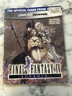 Final Fantasy IV 4 Official Strategy Guide Nintendo Power Gameboy Advance GBA