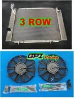HOLDEN VB/VC/VH/VK COMMODORE V8 Engine 1979-1986 Manual Aluminum Radiator +FAN