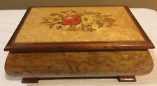 Reuge Inlaid Musical Jewelry Box. Music, The Impossible Dream