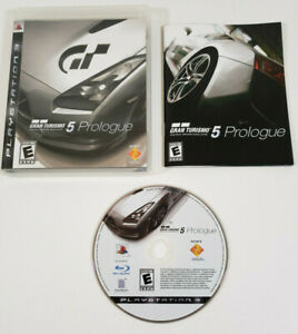 Gran Turismo 5 Prologue (Sony PlayStation 3 PS3) - Complete w/ Manual, Tested