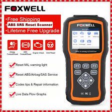 Foxwell ABS Bleeding SRS Airbag SAS Reset OBD2 Code Reader Scanner Diagnostic