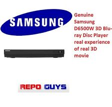 Genuine Samsung D6500W 3D Bluray DVD Player and take experience of real 3D world
