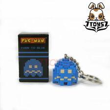 Pure Arts Pac-Man Ghost Turn-to-Blue Arcade Game Bandai Namco_ Keychain _Pu003C