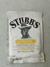 Stubbs Texas Chicken marinade Citrus and Onion BB4 April 2022 from USA