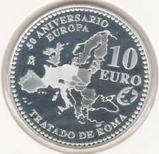 Spanje 10 euro 2007 Proof zilver PP: Verdrag van Rome