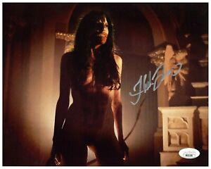 "Hannah Fierman Autograph Signed 8x10 Photo - V/H/S ""Succubus"" (JSA COA)"