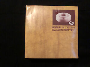 "Rotary Slide Tray 100 2""x2"" Slides Vintage Sealed Old Stock"
