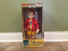The Adventures of Pinocchio Movie Marionette Puppet with Growing Nose