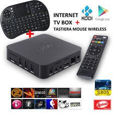 MXQ Mini Smart Android TV Box Kodi 8GB 4K WiFi Media Player + Tastiera WIRELESS