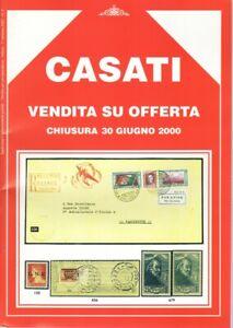 CASATI Catalogo Asta-Elenco con valore-Francobolli Annulli Timbri Postali Lire