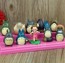 10pcs/Set Studio Ghibli My Neighbor Totoro Cosplay Figure Statue 4-5cm