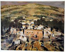 AFFICHE D'EXPOSITION « Hommage à Eugène BABOULENE» Galerie Pierre-Helen GROSSI Q
