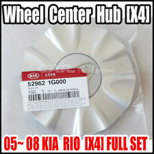 KIA  2005~2008 RIO RIO5 WHEEL CENTER CAP(Hub)  52962-1G000 [X4] 4EA=Full Set