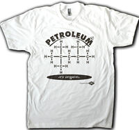 Petroleum, Funny Organic Chemistry Men's T-shirt, Funny Science Tee