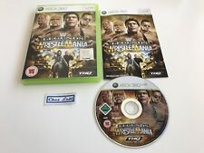 WWE Legends Of Wrestlemania - Microsoft Xbox 360 - PAL UK - Avec Notice