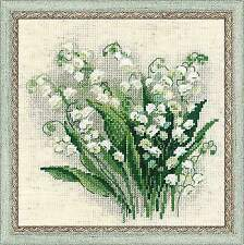 Counted Cross Stitch Kit RIOLIS - SPRING LILIES