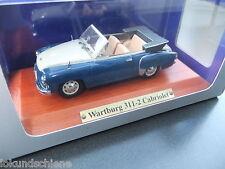 Wartburg 311-2 Cabrio  1:43  Atlas DDR Auto Kollektion  #4523