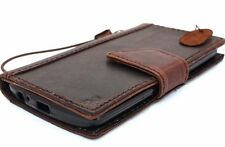 genuine vintage leather Case For lg g2 book wallet handmade slim g 2 id 2g retro