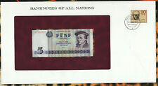 Banknotes of All Nations GDR East Germany 1975 5 Mark UNC P 27a IH368787