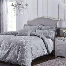 Linge de lit et ensembles gris coton mélangé contemporains