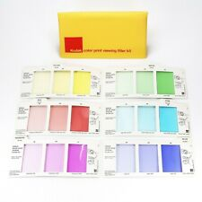 Kodak Color Print Viewing Filter Kit - Complete Set of 6 Cards w/ Manual R-25