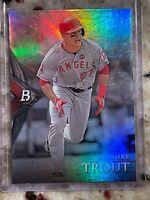 2014 Bowman Platinum Mike Trout 2 Los Angeles Angels